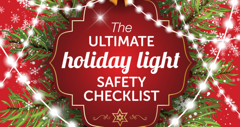 HOLIDAY LIGHTS SAFETY CHECKLIST